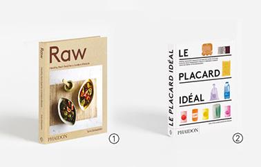 livres raw et le placard ideal