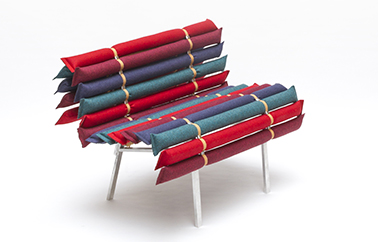 banc Knapsack Kvadrat design by Francois Dumas