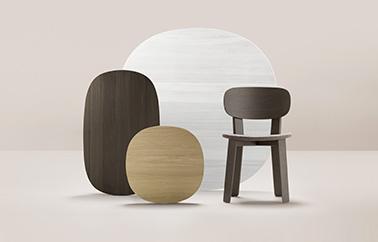 Aiki Tribu chair design by Samuel Accoceberry