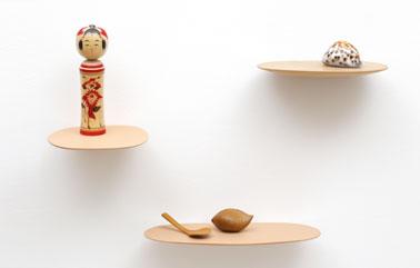 Isola shelf design by Brichet Ziegler