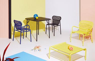 Week End outdoor furniture design by Brichet Ziegler