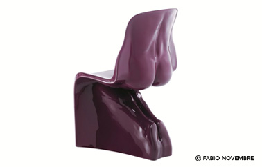 chaise Him and Her design by Fabio Novembre