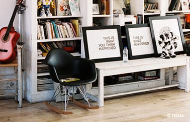 rocking chair design by Nena