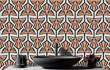Beauregard wallpaper design by Coco Brun