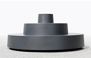 Le plus petit gradin du monde design by Jean Couvreur