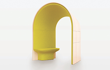 fauteuil Sonore design by Jean Couvreur