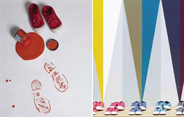 Sneakers design by Serge Bensimon