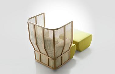 Xistera sofa design by Samuel Accoceberry