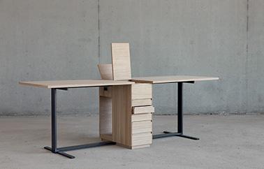 bureau Le Suisse by Giulio Parini