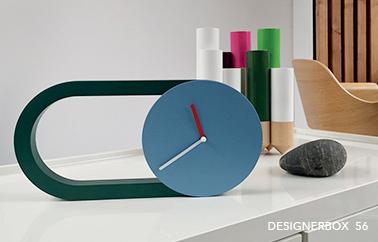 360 clock design by marta bakowski