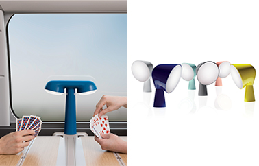 lampe SNCF design by Ionna Vautrin