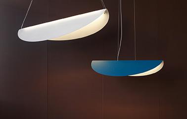 Ellipse lamp design by Nathalie Dewez