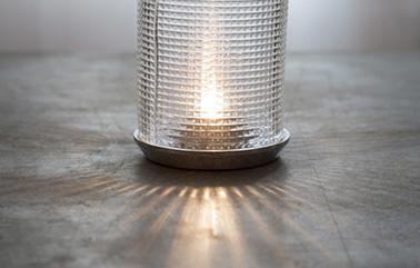 Car Light lamp design by Nathalie Dewez