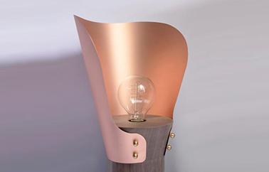 Ginko lamp design by Flavia de Laubadère