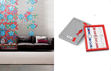 mosaique Bisazza design by Paola Navone