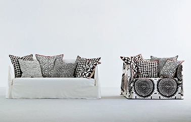canape Ghost Graphique design by Paola Navone