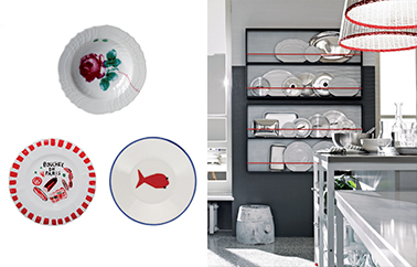 cuisine Menu design by Paola Navone