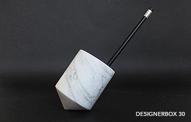 Sputnik pen holder design by Nathan Yong