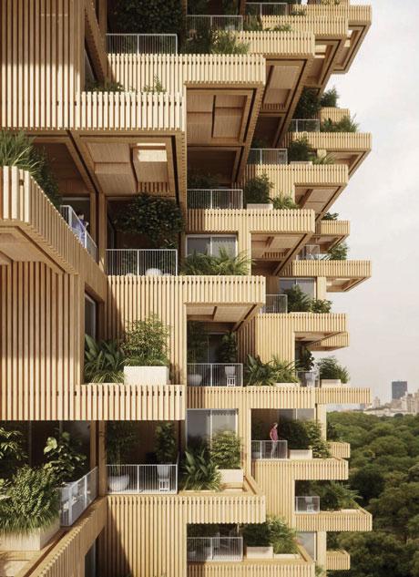 TREE TOWER Panda Architectes Toronto