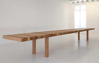 KM table design by Jean Nouvel