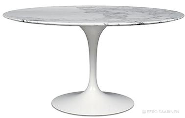table Tulipe design by Eero Saarinen