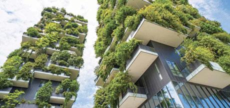Vertical Forest - Bosco Tower Stephano Boeri Milan