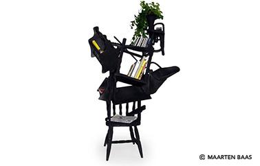 chair bookshelf