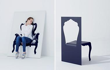 chaise Cutout design by Studio YOY