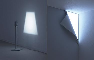 mur lumineux Peel design by Studio YOY