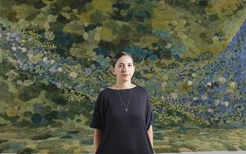 Les paysages textiles d'Alexandra Kehayoglou