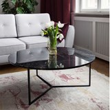 Table basse en Marbre OVAL  6
