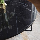 Table basse en Marbre OVAL  3