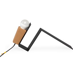 GLINT | magnetic desk lamp - #1 black base and black wire