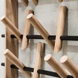 COAT FRAME hangers - black 2