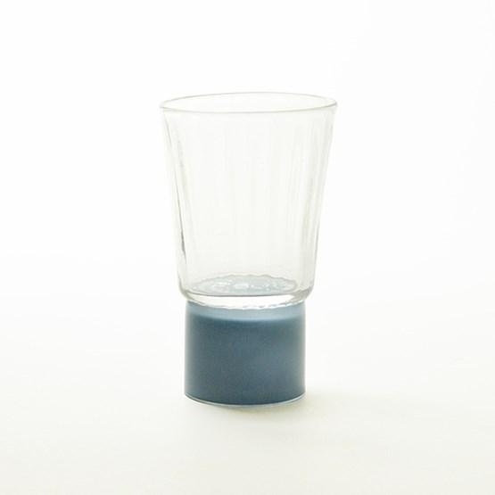 Verre - Collection Moire - bleu - Design : Atelier George