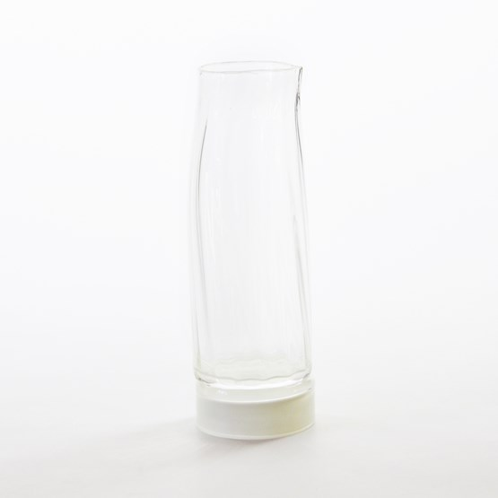 Carafe - Collection Moire - ivory  - Design : Atelier George