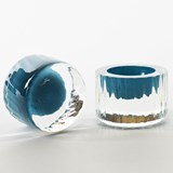 Egg cup - Collection Moire - turquoise 5