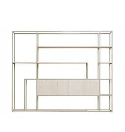 Shelf CELESTE pebble grey