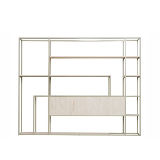 Shelf CELESTE pebble grey - Design : JOHANENLIES