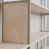 Shelf CELESTE pebble grey 5