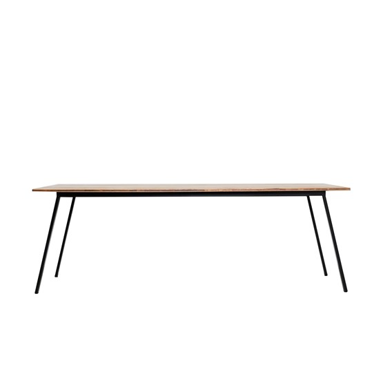 VALKENBURG oak table black - Design : JOHANENLIES