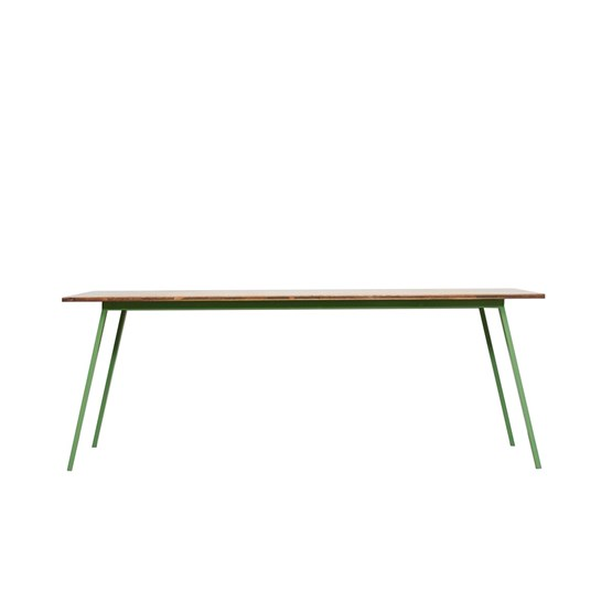 VALKENBURG OAK Table - reseda green - Design : JOHANENLIES