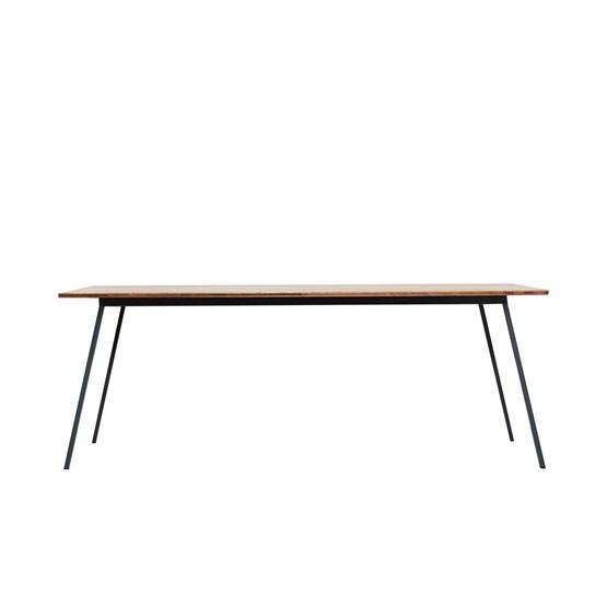 Table VALKENBURG OAK - gris anthracite - Design : JOHANENLIES