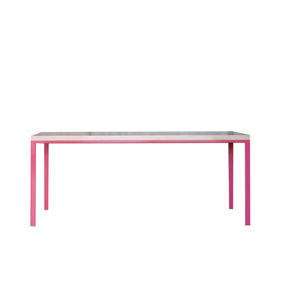 SIMPELVELD table - pink - Design : JOHANENLIES