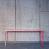 SIMPELVELD table - pink 3