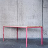 SIMPELVELD table - pink 4
