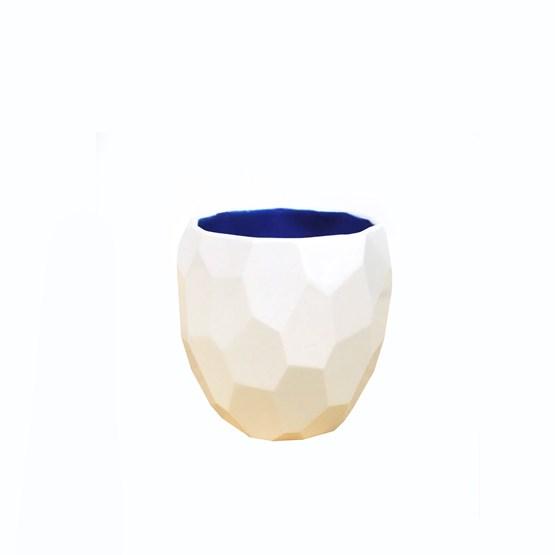 Tasse à café POLIGON - bleu - Design : Studio Lorier
