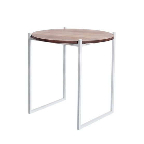 Table d'appoint LULU - noyer - Design : JOHANENLIES