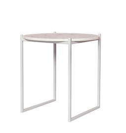 Table d'appoint LULU - blanc