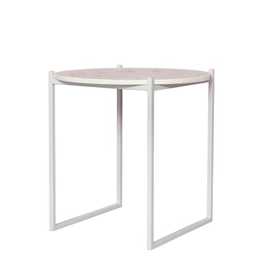 Table d'appoint LULU - blanc - Design : JOHANENLIES